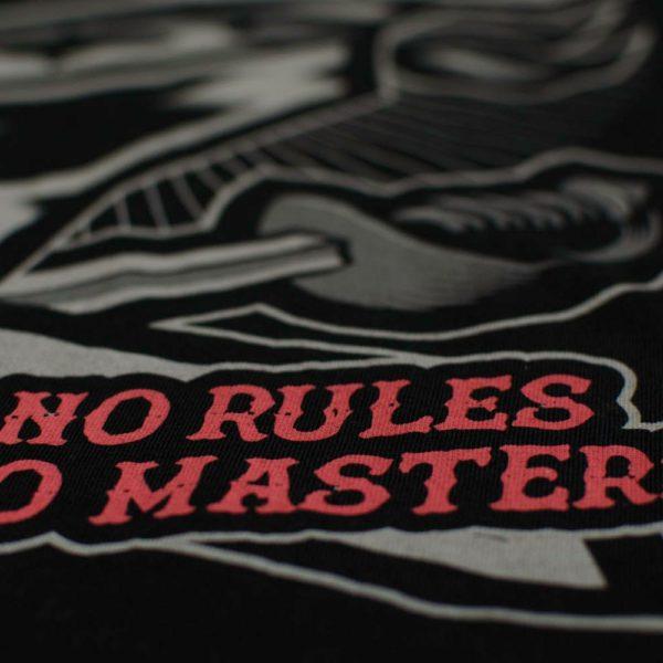 "PRiDEorDiE MMA tričko - ""NO RULES"""
