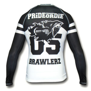 """Rashguard PRiDEorDiE """"BRAWLERZ"""""""